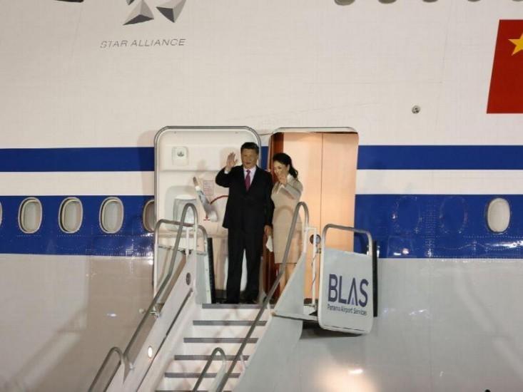 Presidente de China por primera vez en Panamá