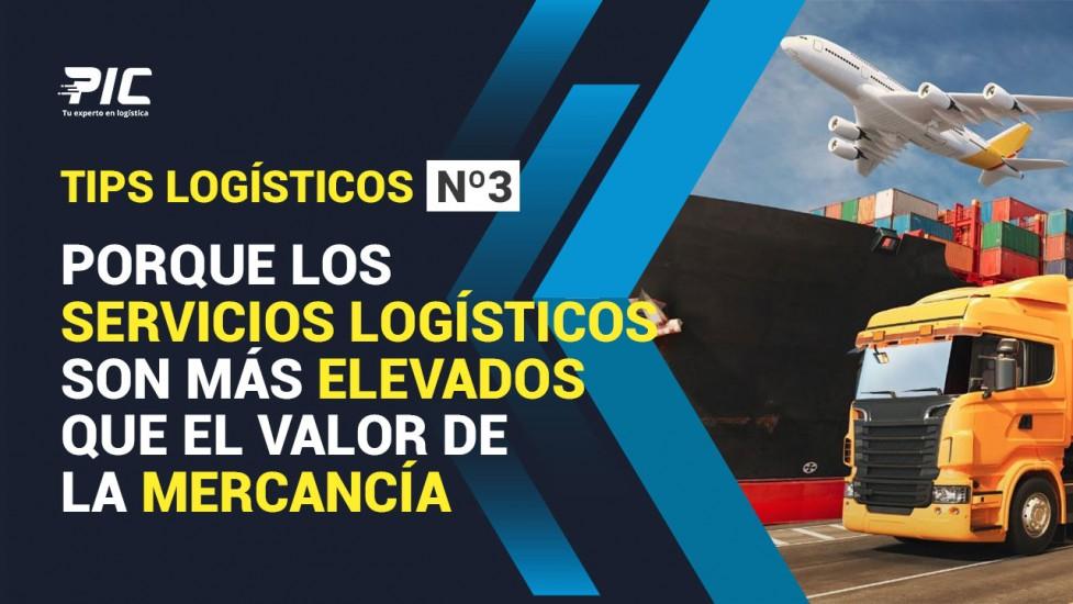 ¿Servicios logísticos más elevados que el valor de la mercancía?