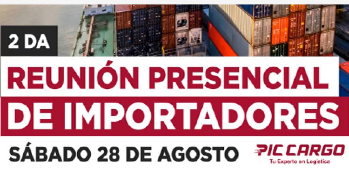 Reunión Presencial de Importadores - 28 de Agosto