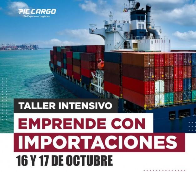 PRÓXIMO Taller de Importaciones 16 y 17 de Octubre